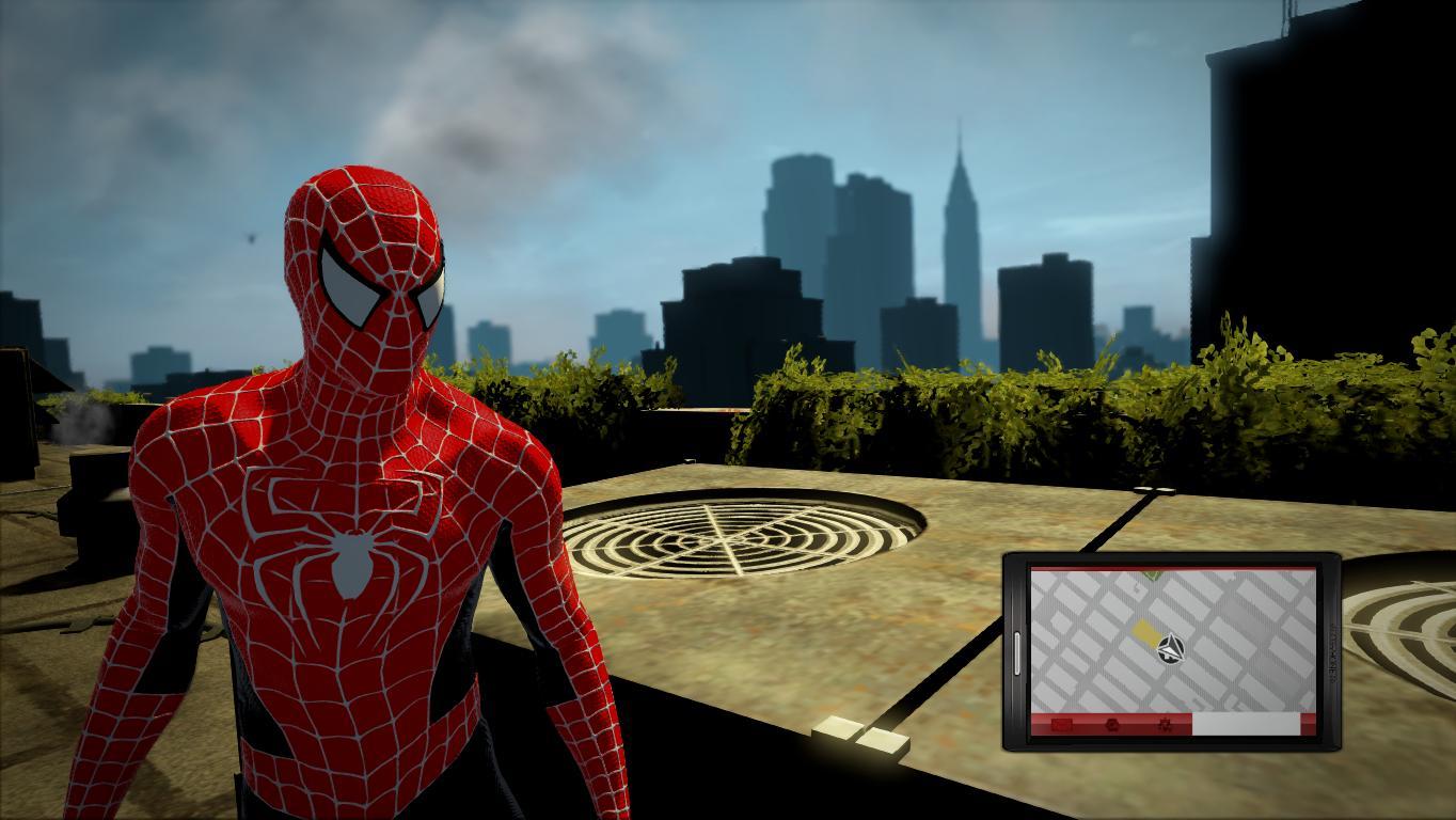 Скачать мод на костюм человека паука