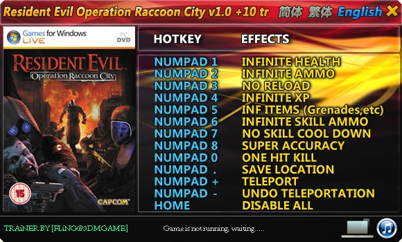 resident evil operation raccoon city games for windows live crack