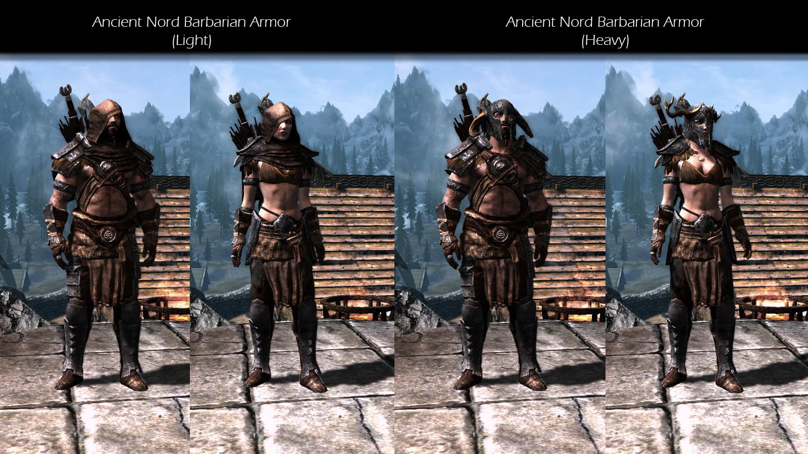 immersive armors для скайрима