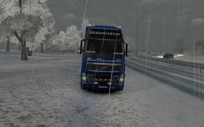 Мод зима для герман трак симулятор скачать
