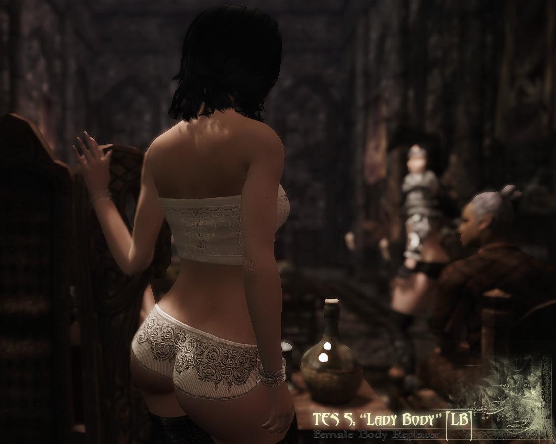 Сексуальная одежда для женщин в скайриме