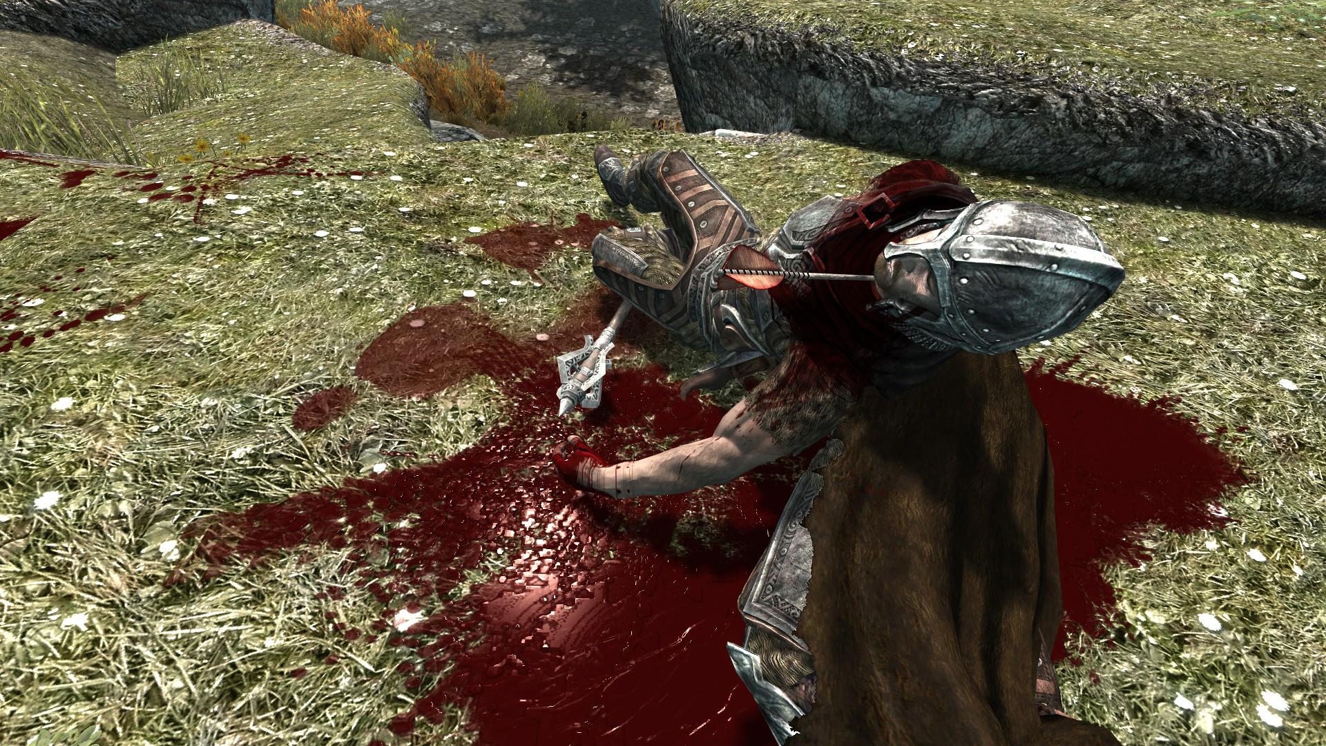 Скачать мод на скайрим 5 на кровь