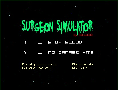 Surgeon Simulator 2013 Сохранения