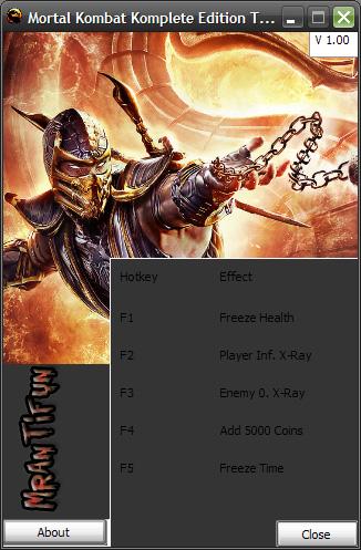 скачать трейнер для Mortal Kombat 9 - фото 3