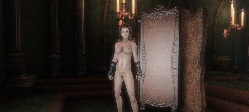 Fable 3 18+ Обнаженный женский персонаж.