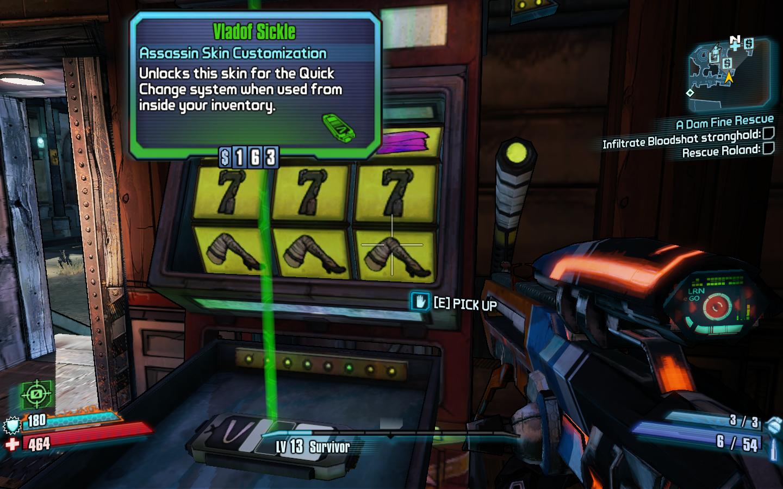 Borderlands 2 игровые автоматы в контакте фараон игровые автоматы