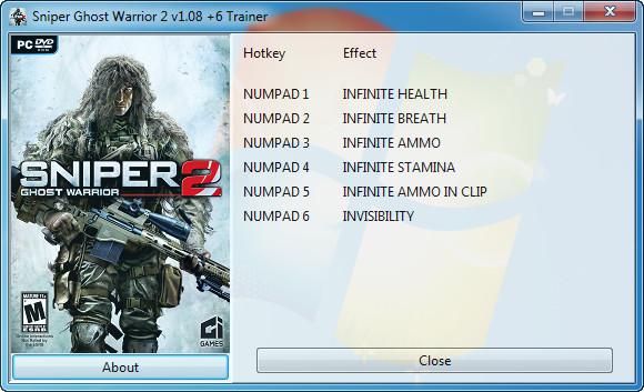 скачать читы на sniper ghost warrior 2