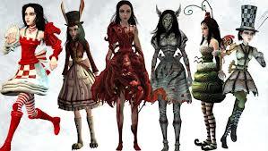 Платья для игры alice madness