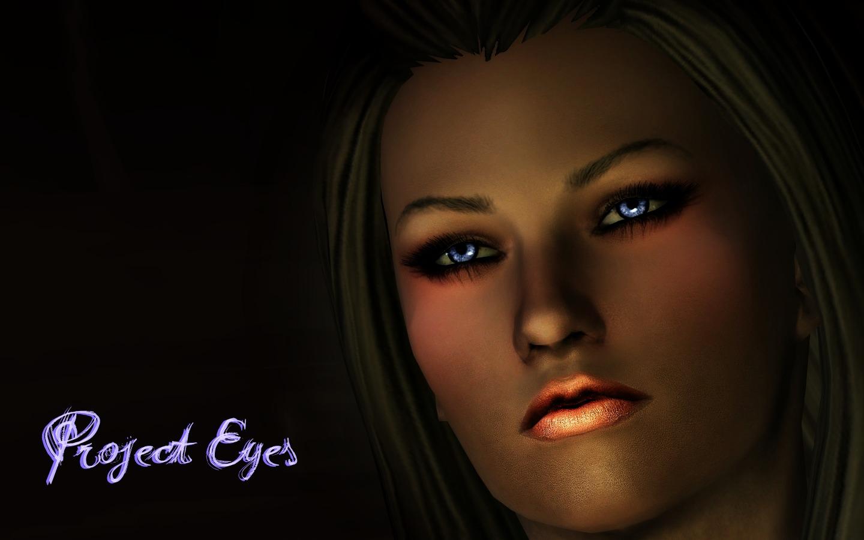 Скайрим мод на Новые Глаза