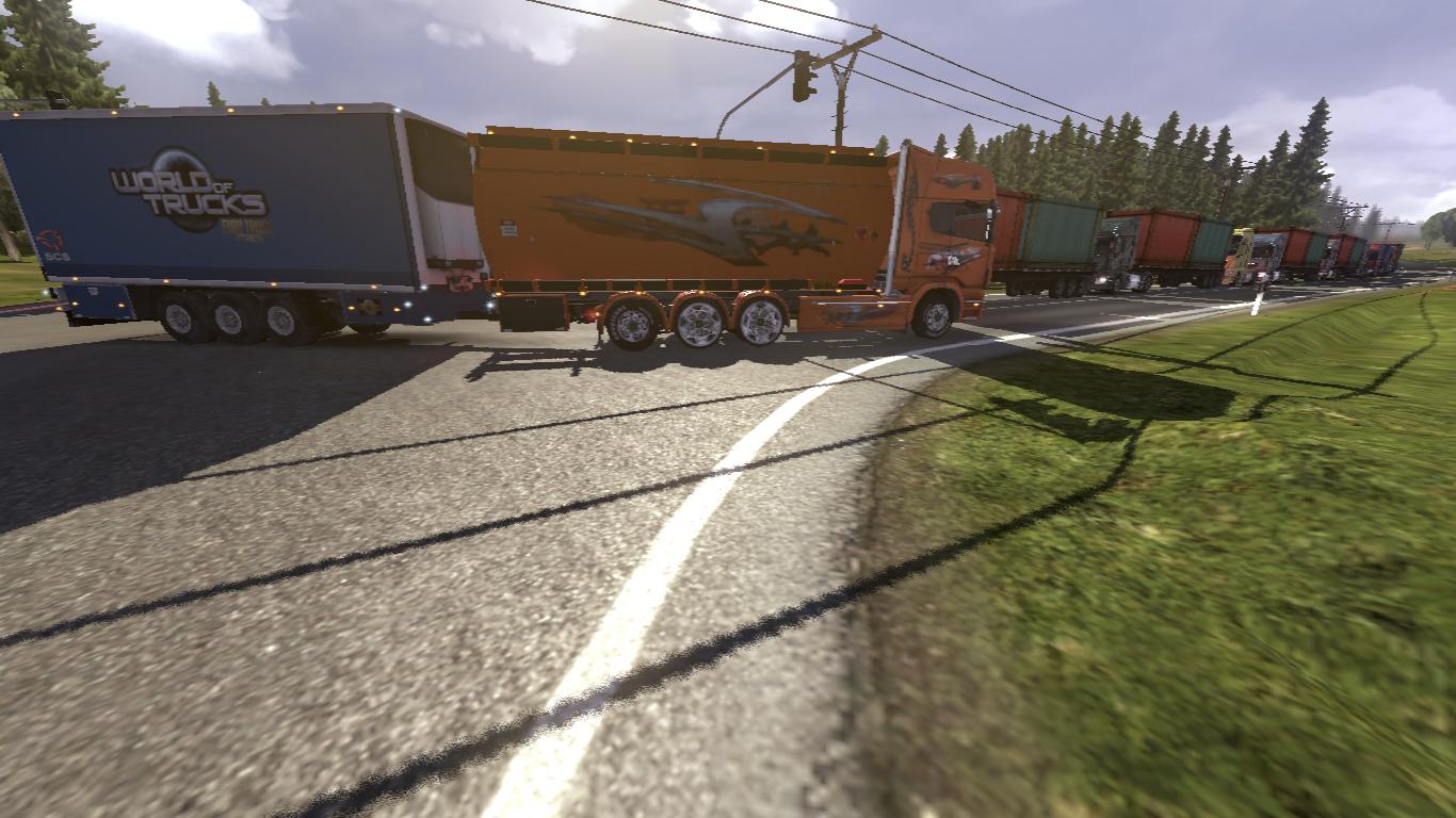 отключение трафика в euro truck simulator 2