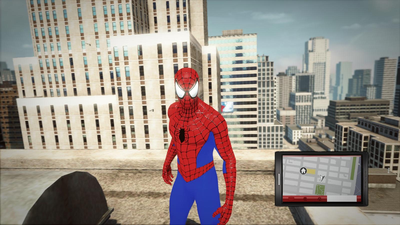 The amazing spider man костюмы 7