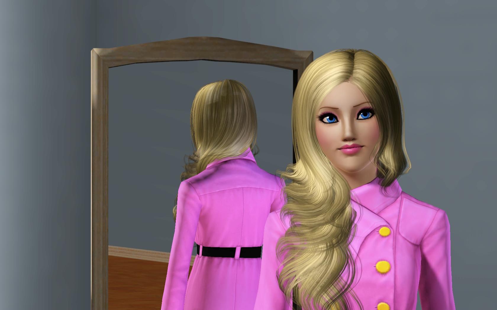 """Sims 3 """"Симка """"Кукла Барби"""""""" - Файлы - патч, демо, demo, моды, дополнение, русификатор, скачать бесплатно"""