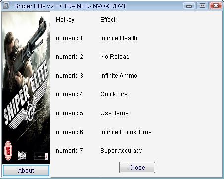 Sniper Elite V2 Скачать Трейнер - фото 4
