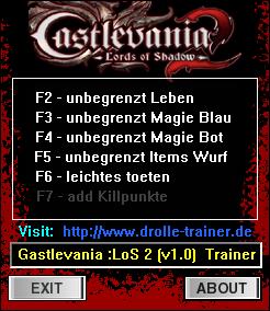 трейнер скачать Castlevania Lords Of Shadow 2 - фото 6