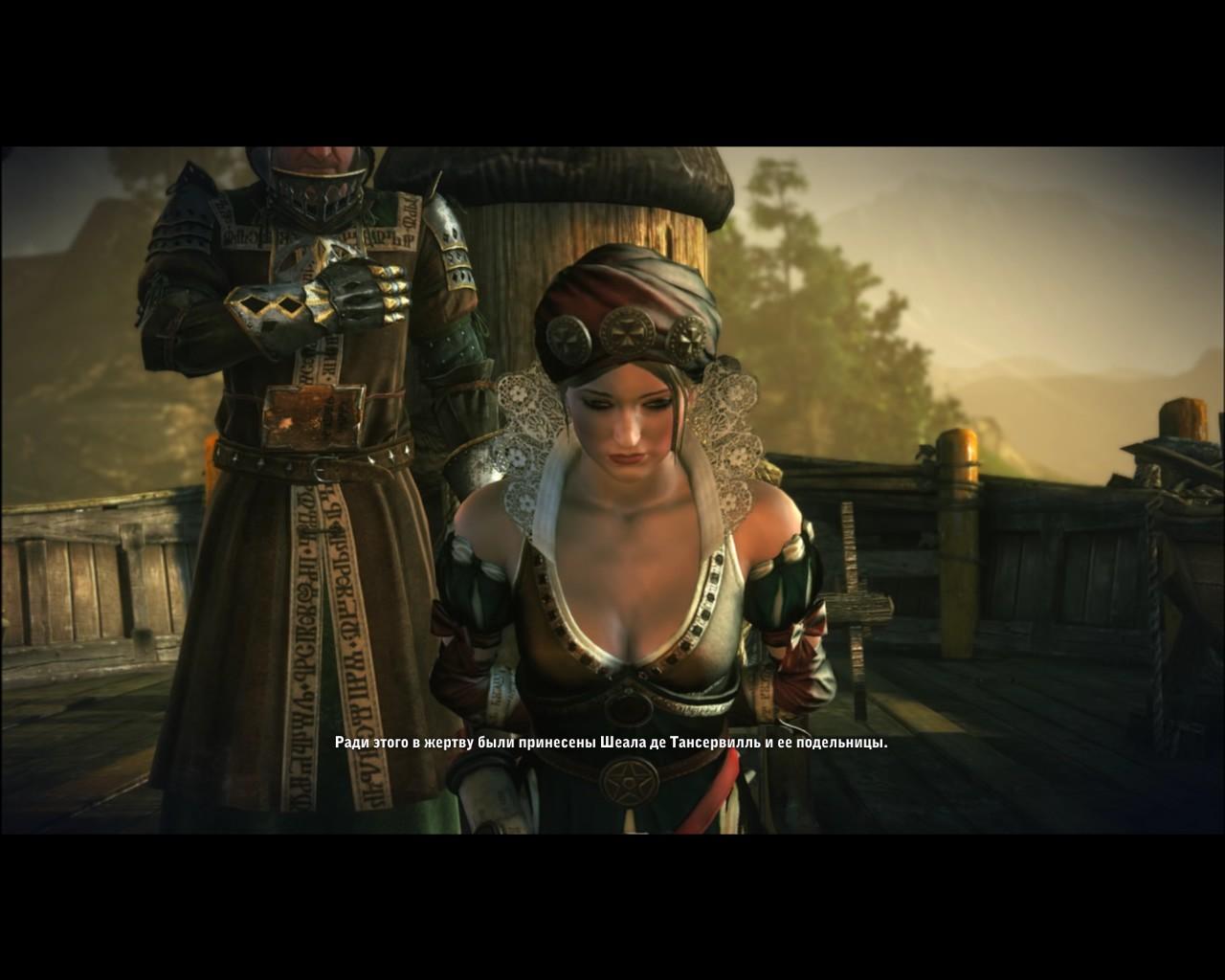 Witcher 2 шеала де тансервиль секс