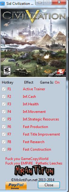 скачать трейнер Sid Meier S Civilization 5 Brave New World скачать - фото 2