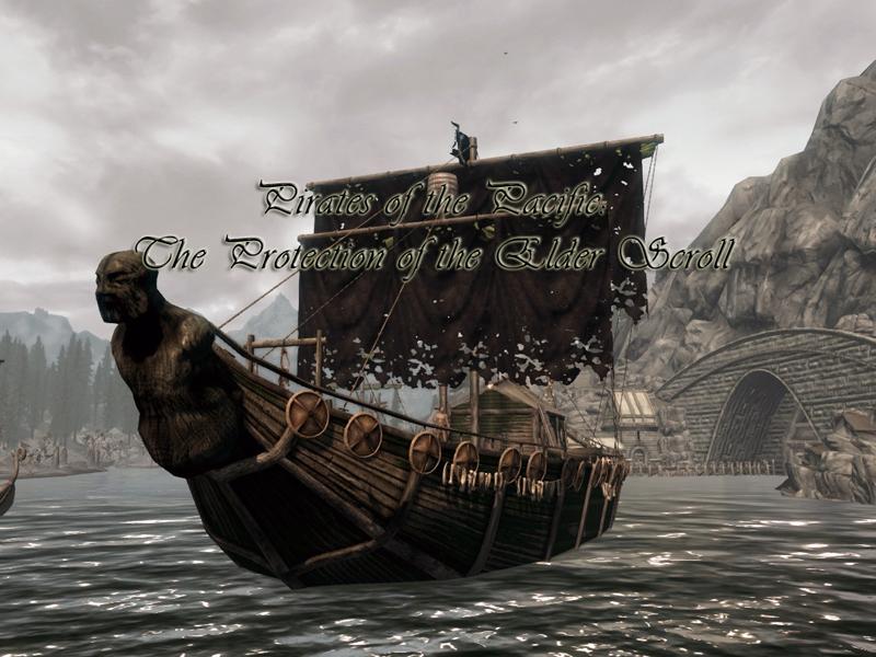 скачать мод для скайрим пираты тихого океана