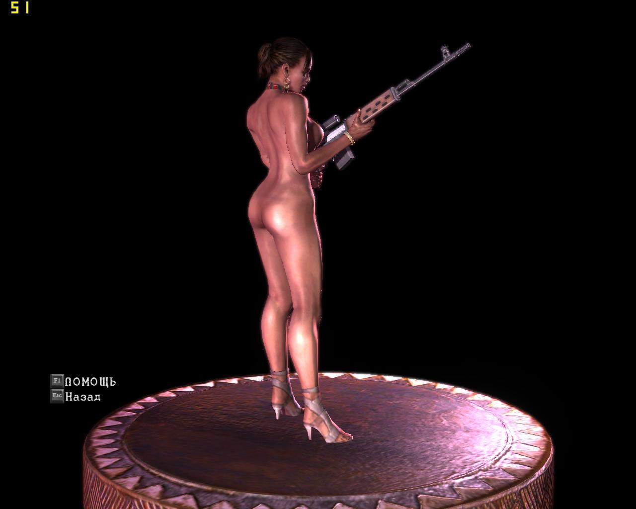 Resident evil 5 nude cheats sheva exposed video