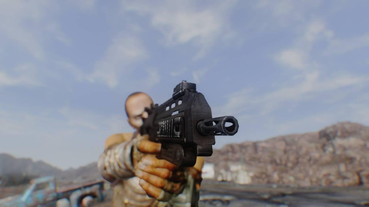 """Fallout: New Vegas """"Пистолет-пулемёт MP-7"""""""