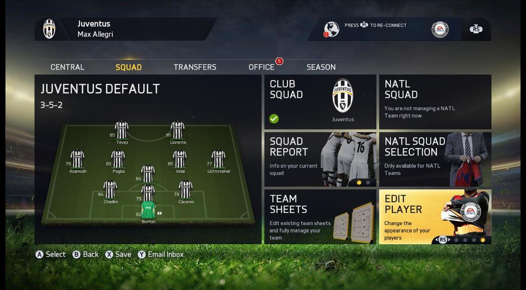 Fifa 15 Изменение Игрока