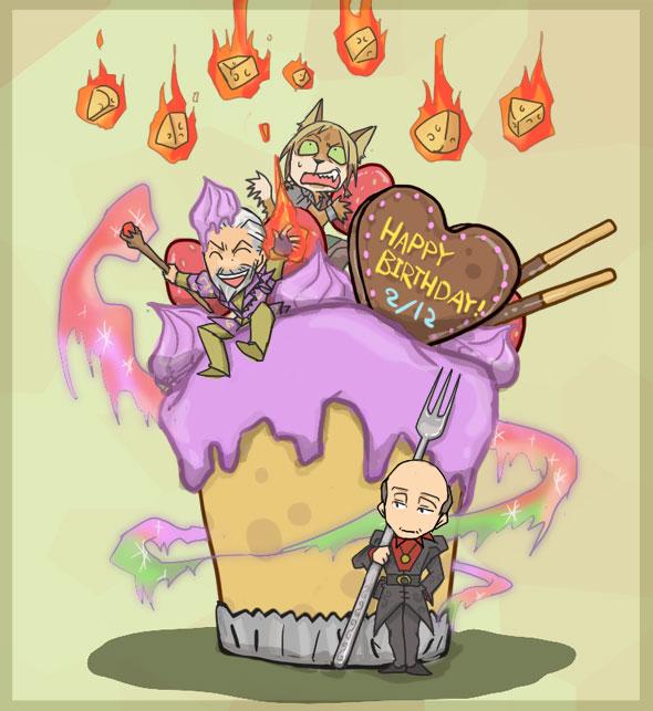 Скайрим поздравление с днем рождения
