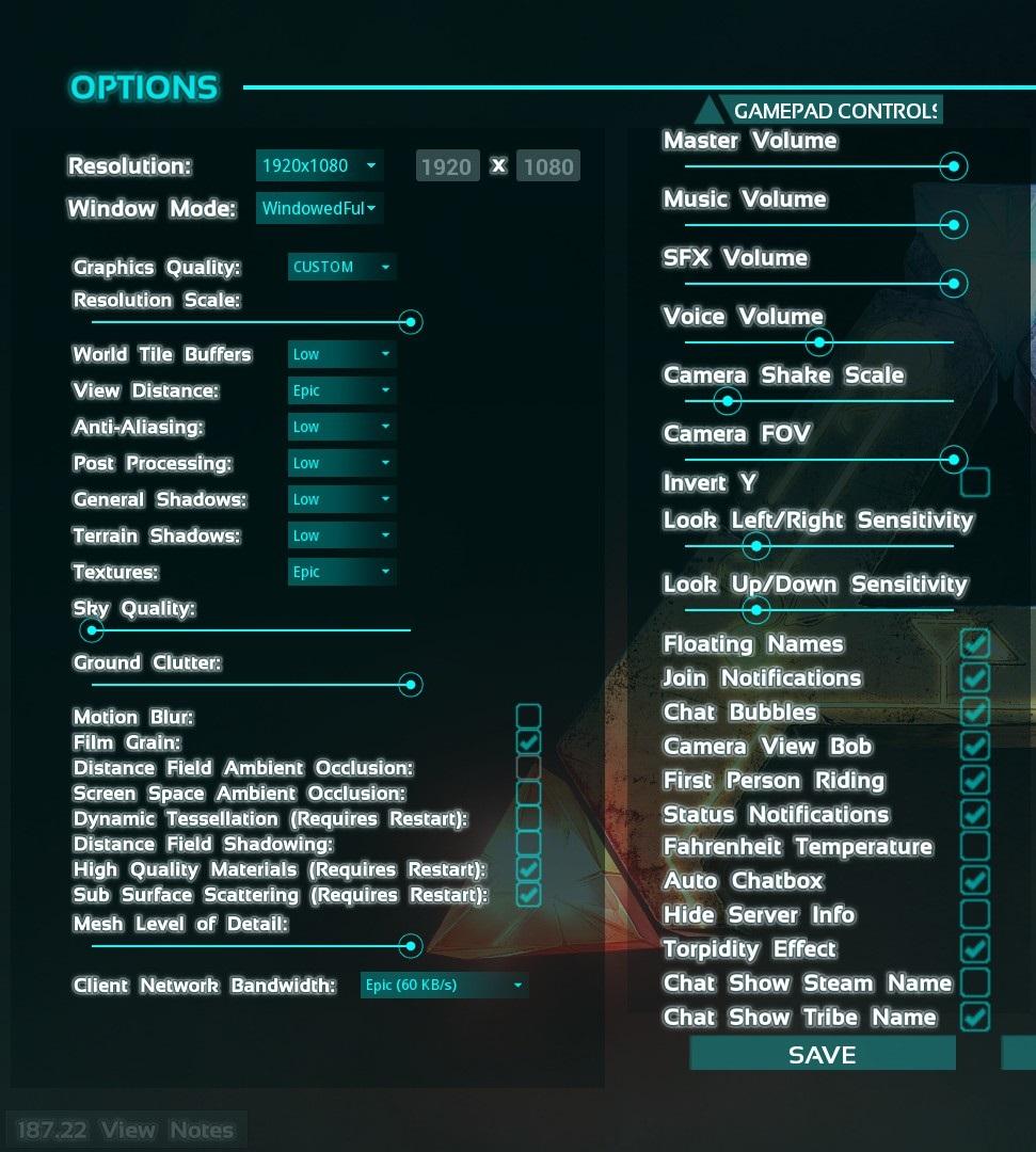 Оптимизация ARK: Survival Evolved и как повысить FPS - Блоги ...