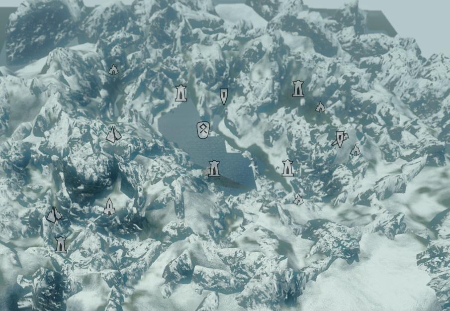 Скачать Карту Забытой Долины Скайрим img-1