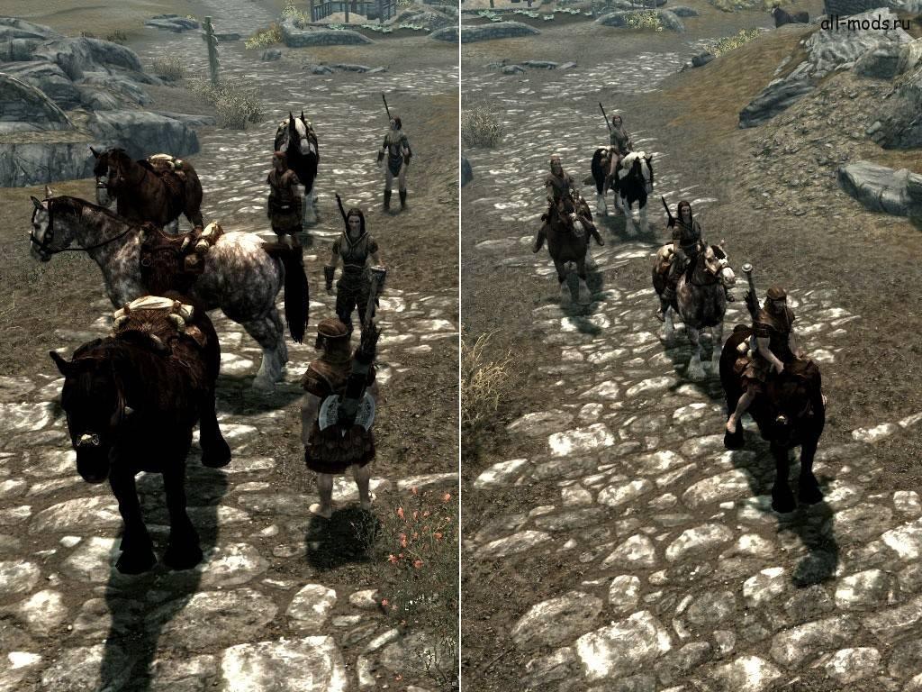Скайрим Лошадь Для Спутника
