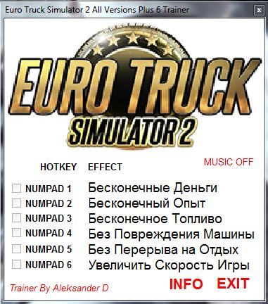 1Download Euro Truck Simulator 2 Trainer