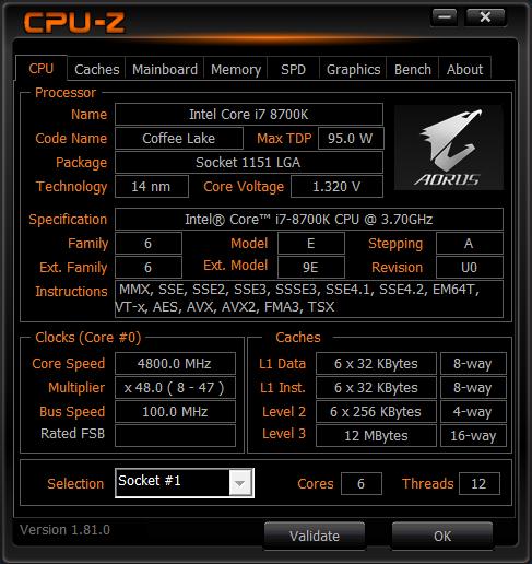 Подтверждены характеристики Core i9-9900K и Core i7-9700K
