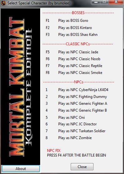скачать трейнер для Mortal Kombat 9 - фото 7