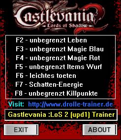 Скачать Трейнер Для Игры Castlevania Lords Of Shadow 2 - фото 9