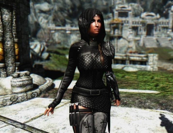 скачать мод на скайрим на броню на девушек - фото 4