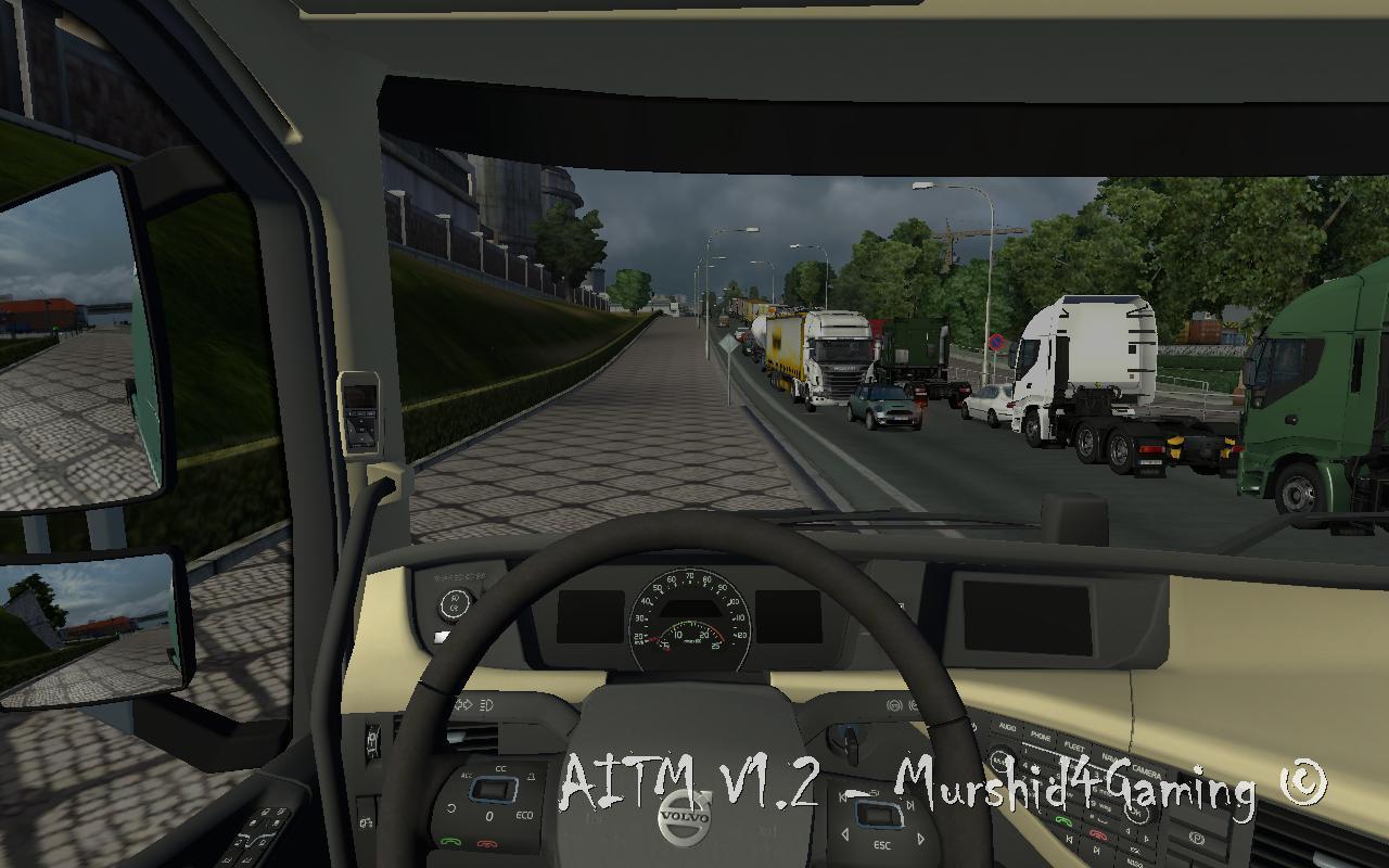 Скачать мод на пробки для euro truck simulator 2