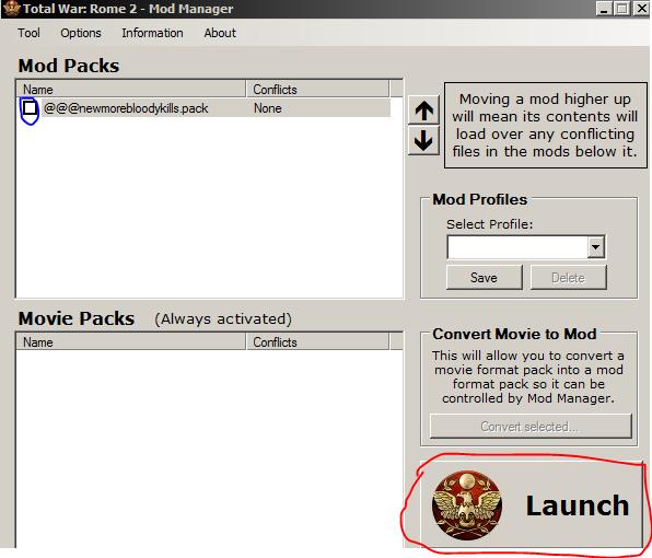 Total War: Rome 2: Набор редакторов игры (Mod Manager