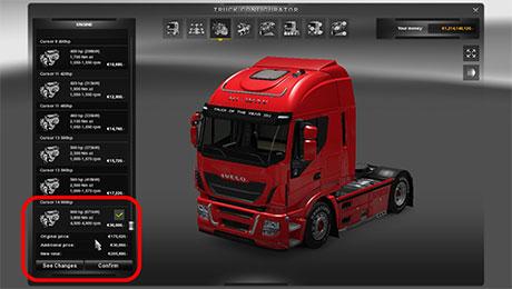 Скачать мод для euro truck simulator 2 на двигатели