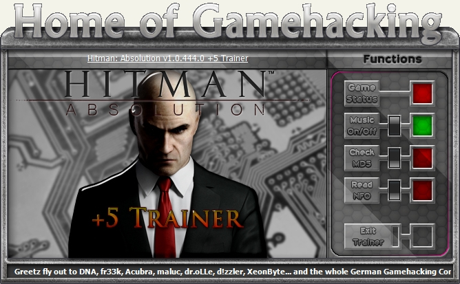 trainer hitman absolution