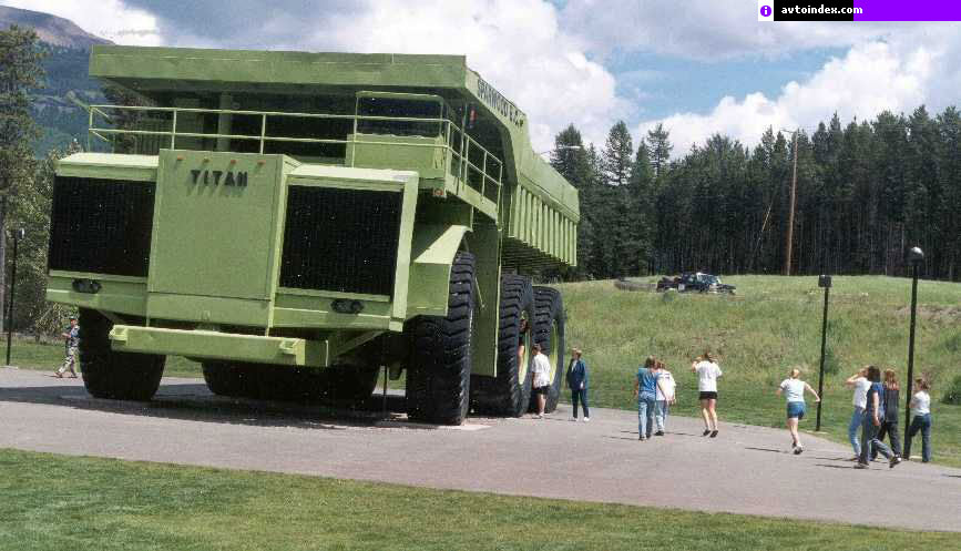 Самый огромный грузовик в мире - Ter…