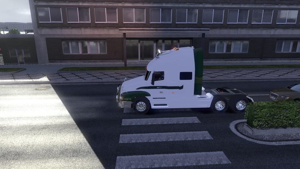 скачать мод вольво внл 660 для Euro Truck Simulator 2 - фото 8