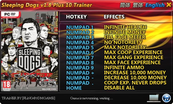 download sleeping dogs trainer