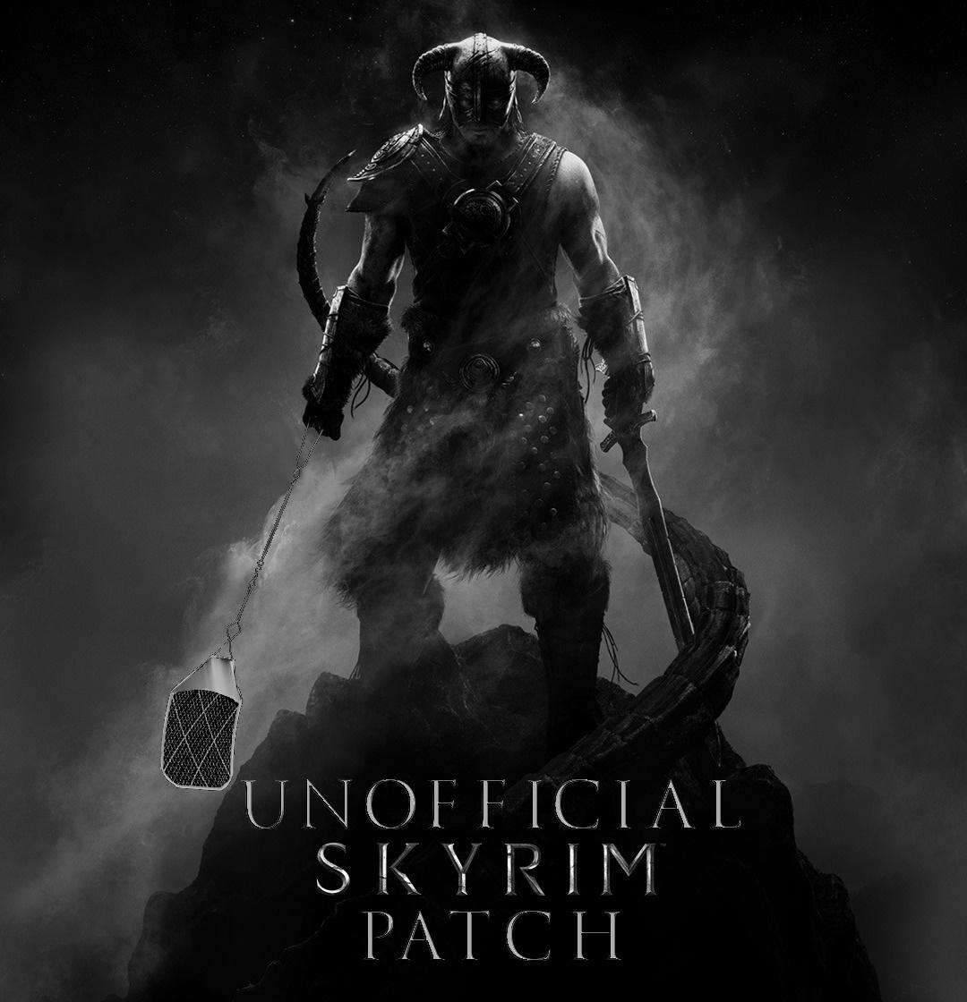 Рекомендуется удалить все предыдущие версии Unofficial Skyrim Patch.