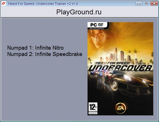 1Need For Speed Undercover Trainer