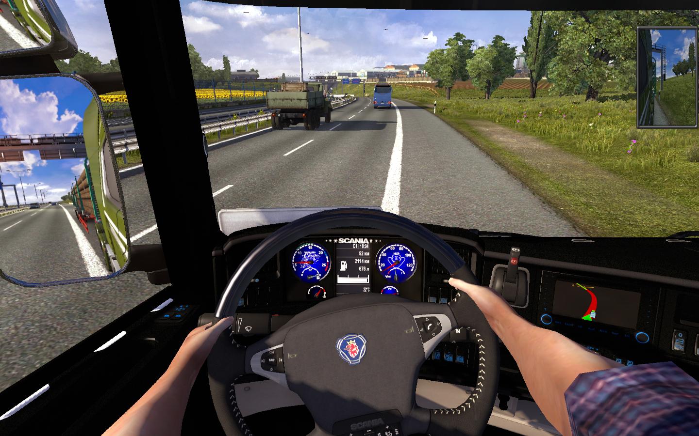 Руль своими руками для euro truck simulator 2 243