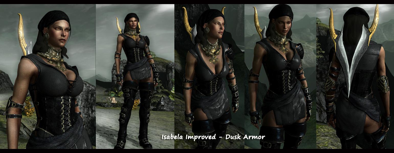 Dragon age origins одежда изабеллы мод