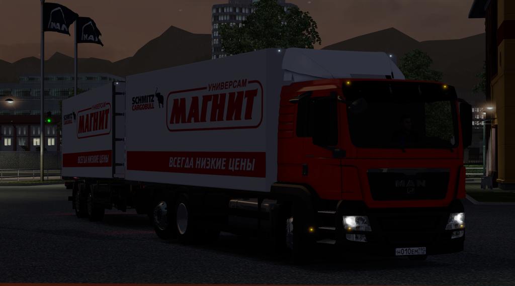 скачать мод на Euro Truck Simulator 2 ман магнит - фото 10