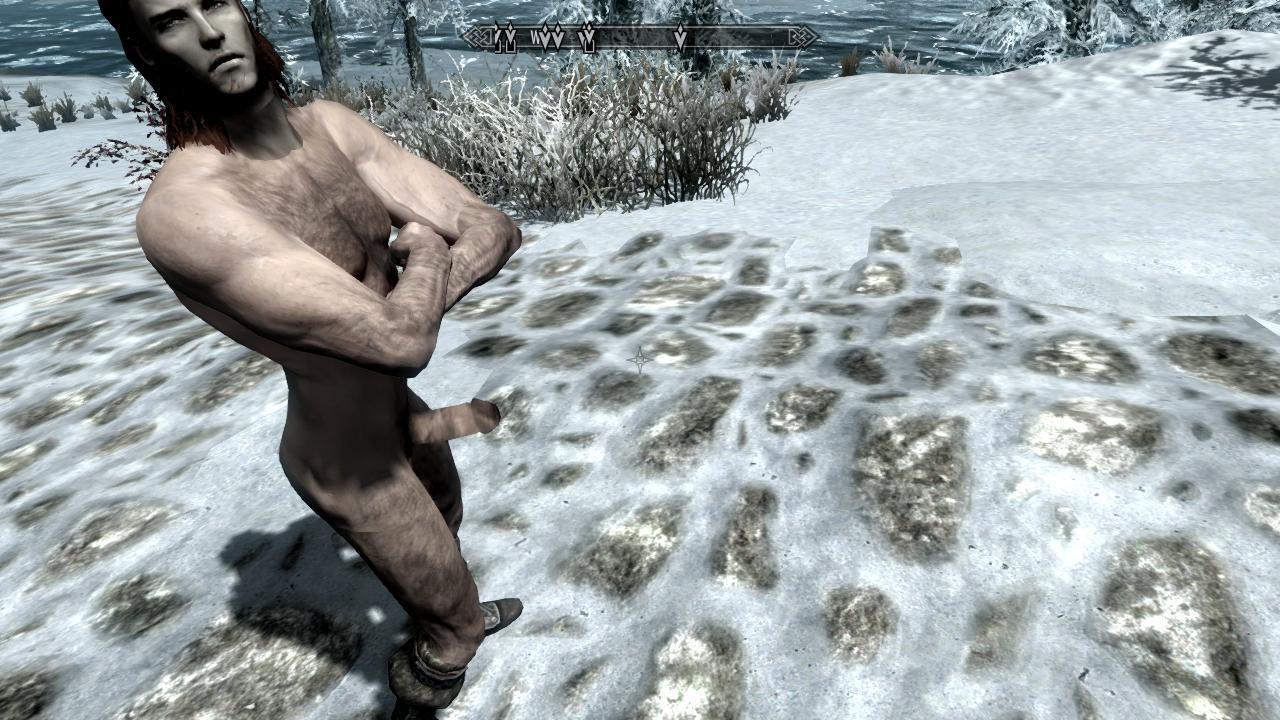 Скайрим мод пенис