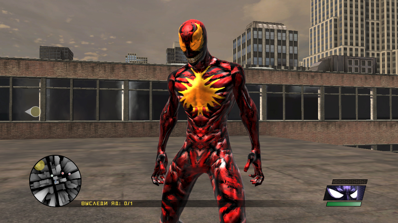 "Spider-Man: Web of Shadows ""Скин Ultimate Carnage"" - Файлы ..."