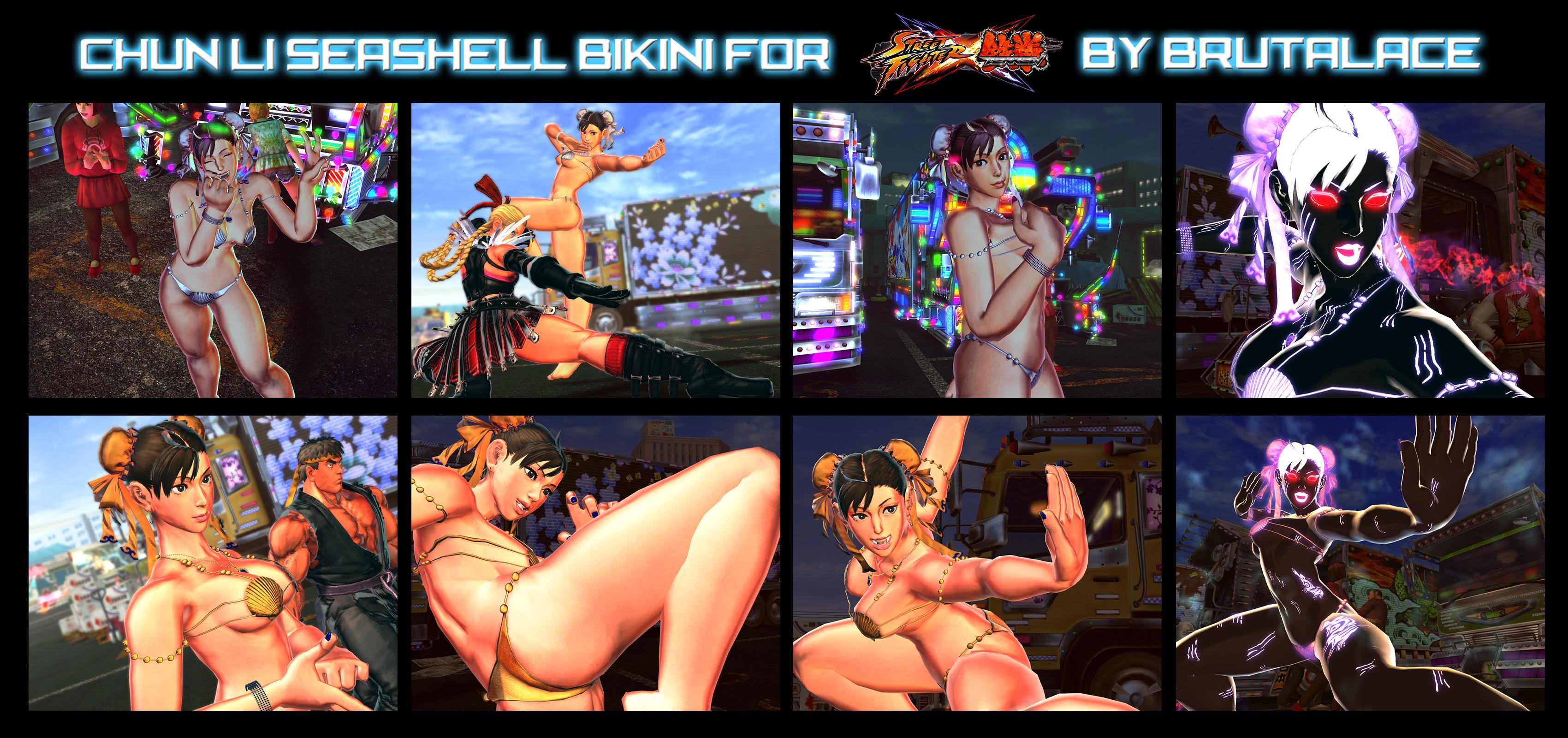 Chun li bikini pictures