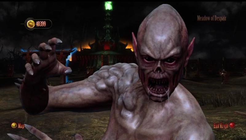 Mortal Kombat.Предбойные коды + интересности