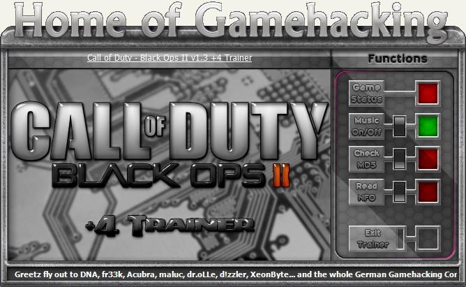 Скачать Трейнер На Call Of Duty Black Ops 2 - фото 6
